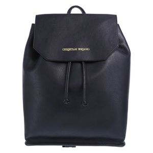 Christian Siriano Black Backpack